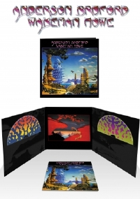 Anderson, Bruford, Wakeman and Howe Deluxe Edition 2011 UK in Replica LP Sleeve