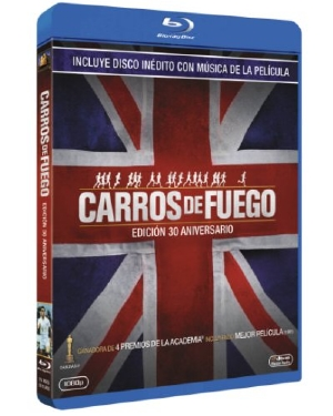 Chariots of Fire Spanish blu-ray/CD combo pack - FNAC exclusive