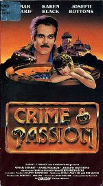 Crime and Passion US videocassette front cover